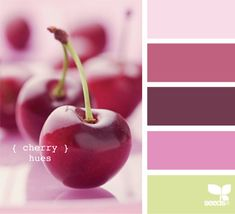 cherry hues - oooooooh! Is it cliche to say these are yummy?:)