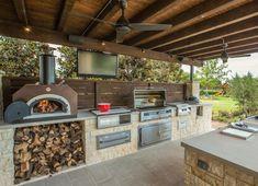 Barbecue Outdoor Kitchen Design