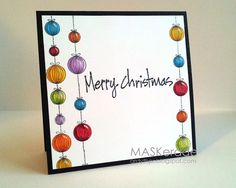 - Merry Christmas by Ardyth - Cards and Paper Crafts at Splitcoaststampers - Merry Christmas Calligraphy, Merry Christmas Quotes, Christmas Greeting Cards, Christmas Greetings, Holiday Cards, Watercolor Christmas Cards, Christmas Printables, Homemade Cards, Christmas Crafts
