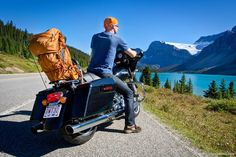 Motorcycle Road Trip in the Canadian Rockies (Great photos)