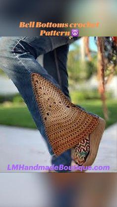 Boho Crochet Patterns, Crochet Vest Pattern, Hippie Crochet, Crochet Shawl, Vintage Crochet Dresses, Treble Crochet Stitch, Boho Pants, Crochet Clothes, Crochet Outfits