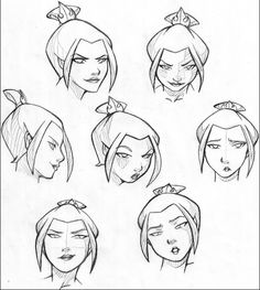 Azula sketch by CorruptedPrincess Avatar Airbender, Avatar Aang, Avatar Legend Of Aang, Character Sketches, Art Sketches, Character Art, Anime Faces Expressions, Drawing Expressions, Art Reference Poses