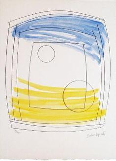 Artwork page for 'Moonplay', Dame Barbara Hepworth, 1972 Barbara Hepworth, Prints For Sale, New Art, Screen Printing, Contemporary Art, Modern Art, Art Gallery, Pottery, Artwork