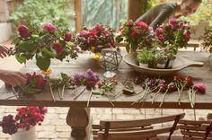 Margot Blair Floral | InkedFingers Photography | PALAZZO LAVACA | Austin, TX  #Pink #purple #garden #roses #lilacs #ranunculus #sweetpeas #Texas #wedding #flowers