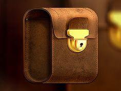 Dribbble - Bag Icon by Román Jusdado