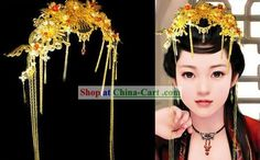 #1 Traditional Chinese Hair Decoration for Brides