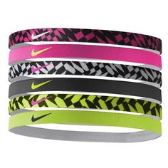 Nike Sport Headbands ($15) ❤ liked on Polyvore featuring accessories, hair accessories, head wrap headband, hair band headband, stretchy headbands, sport headbands and sports headbands