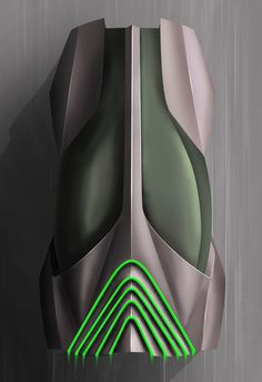 Futuristic Vehicle, Stratos Evo Car Concept by Niels Grubak Iversen