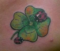 tattoo coccinella