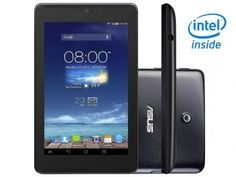 "Tablet Asus Fonepad 7 8GB 7"" 3G Wi-Fi Android 4.2 - Intel Atom Câm. 5MP + Frontal 1.2MP Função Celular"