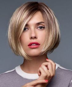 Short smooth bob, great color #hairgoals