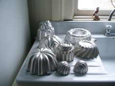 jello molds or cake molds