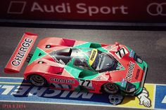 JPVR           PHOTOGRAPHY: Mazda 787 b at Le Mans