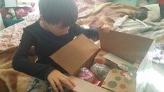 My unwrapping helper!