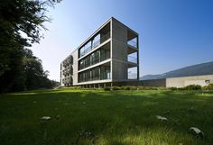 Residential Building In Cureglia,© Alexendre Zveiger