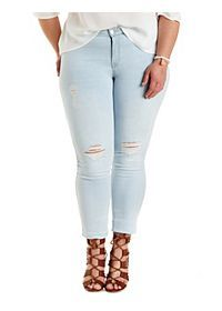 "Plus Size Refuge ""Skin Tight Legging"" Jeans"