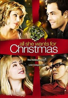 All She Wants for Christmas, Lifetime, 2006, Monica Keena, Tobias Mehler.  Like.