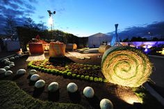Le jardin de l'IFLA