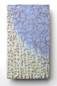 Circles 5, Encaustic by Karla Englehardt
