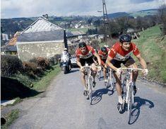 Liège-Bastogne-Liège: Van Schil leads Merckx on the road to victory in 1969