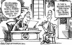 """""""Putting the Life Back in Upper Elementary Classrooms: One Lesson at a Time."""": More Enrichment Ideas! Funny Teaching Memes, Alex Toth, Denver Post, Illustration Story, Political Cartoons, Comic Strips, Online Printing, Politics, Education"""