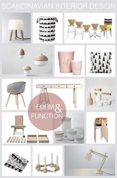 Why we love Scandinavian Design so much..  blog article about how form and function are seen as inseparable in the Nordic Countries.