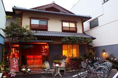 A ryokan in Kyoto, Japan. Staying at one of these Japanese-style guesthouses is the ultimate Japanese experience. But there are a few things you should know before you go – here's our guide for the first-time visitor. Unique Hotels, Best Hotels, Traditional Japanese House, Japanese Style, Japanese Temple, Japan Travel Tips, Japanese Interior, Visit Japan, Japanese Architecture