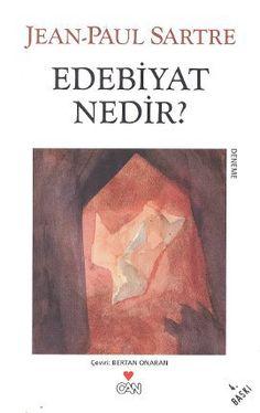 Edebiyat Nedir, Jean Paul Sartre - Can Yayınları