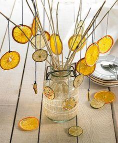 DIY orange Christmas tree by Delicooks