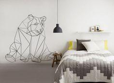 figura de urso decorativa feita com washi tape