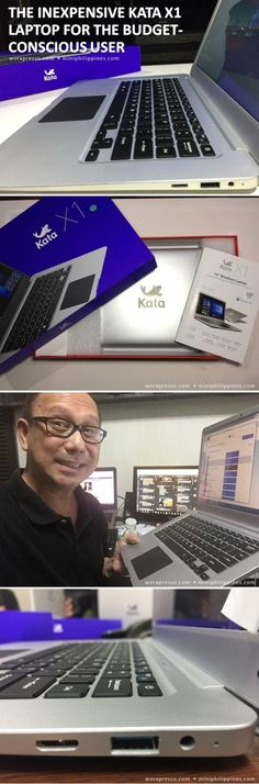 Introducing one of the best 14-inch display, quad core, lightweight-design laptop at a price a budget-conscious user would be very interested to buy – the KATA X1 Laptop, priced at P9,999.00, now open for pre-orders, nationwide.