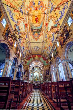 Iglesia, la isla de Madeira, Portugal