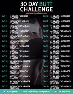 Image from http://30dayfitnesschallenges.com/wp-content/uploads/2014/09/30-day-butt-challenge-chart.jpg.