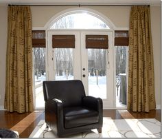 Indoor French Doors For Sale Transom Window Treatments, Window Coverings, Palladian Window, Hanging Barn Doors, Exterior Doors With Glass, Arched Windows, Round Windows, Door Curtains, Commercial Interior Design