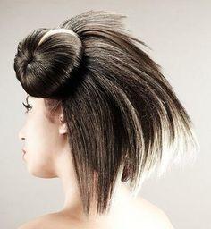 Different Types of Hair Buns punk bun – Makeup Style Types Of Hair Bun, Types Of Buns, Types Of Makeup, Bun Updo, Punk, Bun Hairstyles, Simple Hairstyles, Insta Makeup, Hair Ties