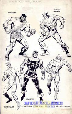 viúva negra marvel comics john buscema - Pesquisa Google