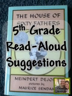 "5th Grade Teachers- Come and Check out the great read aloud suggestions and share YOUR favorite books! An Educator's Life: ""Read-Aloud Round-Up"" Book Share"
