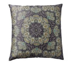$30.  Rosa Medallion Scarf Print Pillow Cover
