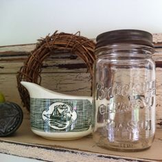 "Mason jar decor ""Jar Flies and Cannin' Jars"" www.appalrootfarm.com A blog inspiring those with Appalachian roots to celebrate their heritage"