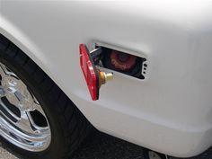 67-72 chevy truck marker lights hidden gas doors