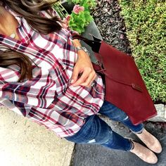 IG @mrscasual <click through to shop this outfit> Pink Plaid