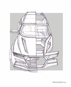 Audi Crosslane Concept - Design Sketch