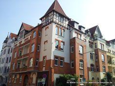 Wo stehen die schönsten Altbauten in Hannover? Natürlich in der List, ganz in der Nähe des Moltkeplatz aufgenommen 03-2014  - vom Immobilienmakler in Hannover: arthax-immobilien.de