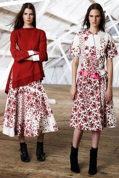 Preen Line Fall 2014 Ready-to-Wear Fashion Show Party Fashion, Fashion Show, Fashion Looks, Fashion Outfits, Fashion Design, Fashion Trends, Models, Catwalk, Designer