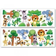 Fun4Walls Raa Raa The Noisy Lion Wall Stickers Stikarounds