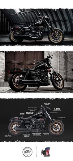 The Low Rider S takes the factory custom genre to a raw and powerful new edge. | 2017 Harley-Davidson Low Rider S
