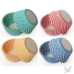 Pisa Swirl Cupcake Liners & Baking Cups