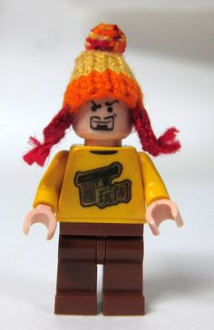 The most awesome lego mini figure ever!!!