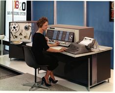 IBM 1620 data processing press release photo