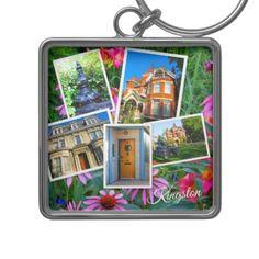 #Kingston Ontario Images Keychain - cyo customize design idea do it yourself diy
